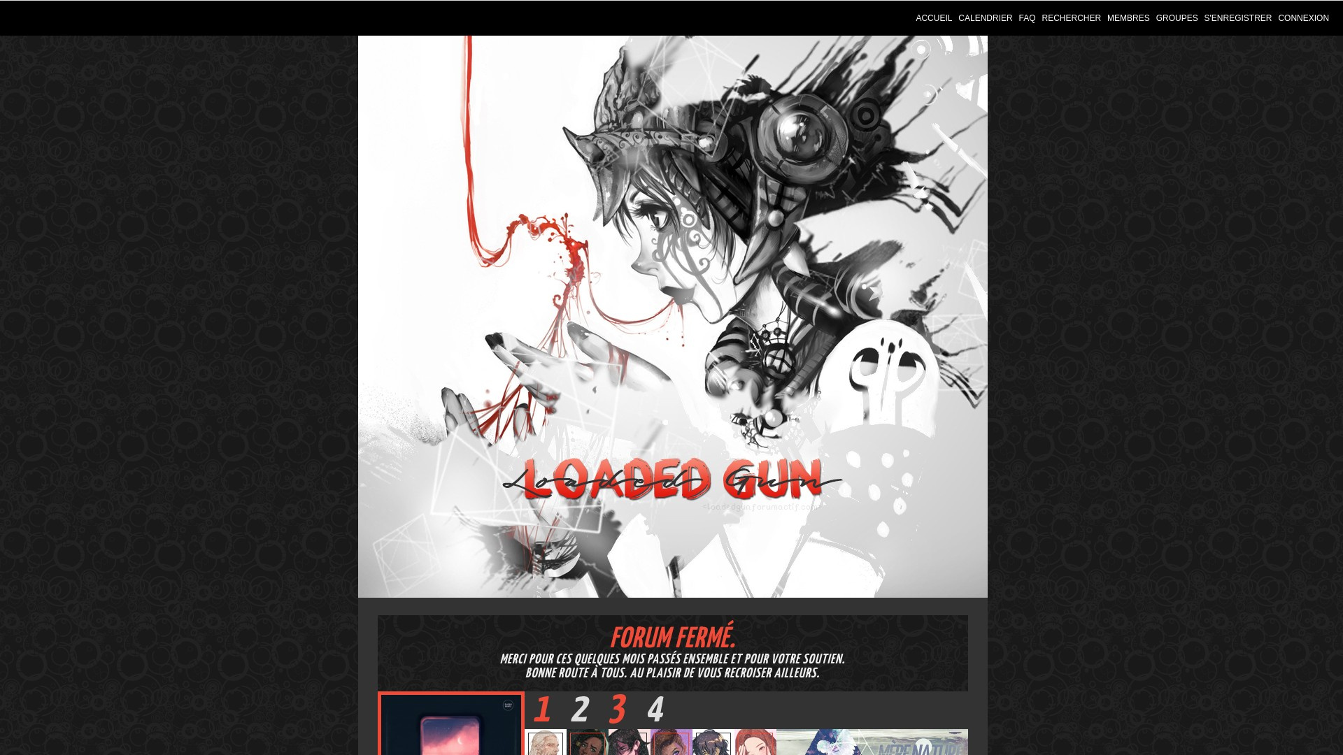 Illustration Loaded Gun