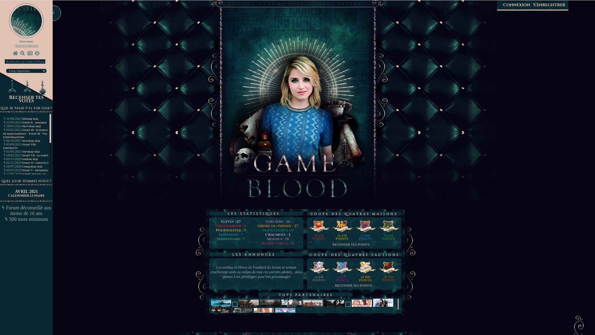 Illustration Game of Blood