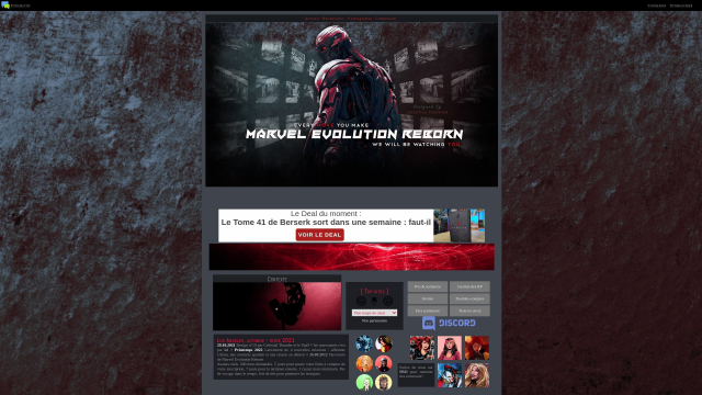 Marvel Evolution Reborn
